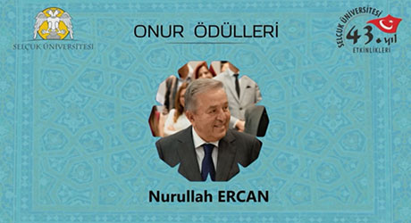 HONOR AWARD FOR MR. NURULLAH ERCAN